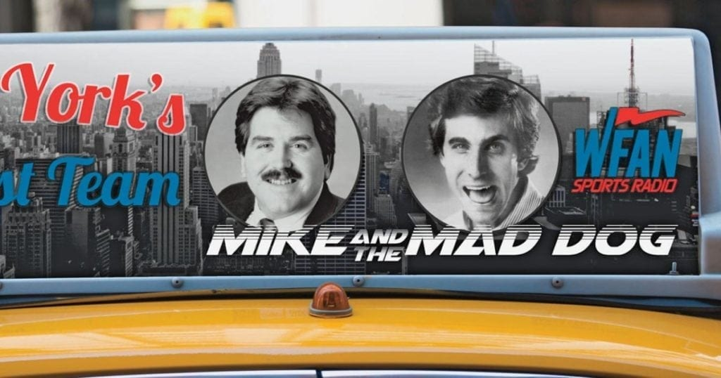 Mike and the Mad Dog WFAN New York